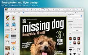 free flyer maker app poster maker wombat apps