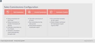 Sales Commissions Template Sales Commissions Suitecrm Module