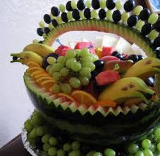 How To Decorate Salad Tray Watermelons Inspired Creative Food Design Ideas and Summer Party 49