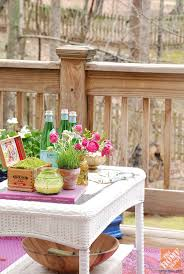 deck decorating ideas by whitney of curtis casa the home depot blog
