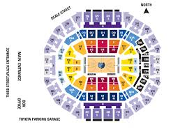 Fedex Forum Memphis Grizzlies Seating Chart Grizzlies Five Game Packs Memphis Grizzlies