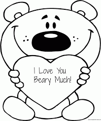 30 valentine's day coloring pages (i love you. Coloring Pages I Love You Coloring Home