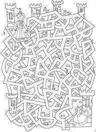 Welkom Bij Dover Publicationskleurplaatdoolhof Ridders En