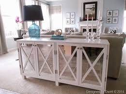 Ana White | Mirrored Cabinet Console - Featuring Designed to Dwell ...