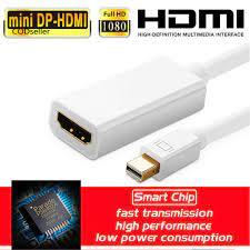 Dây Cáp Chuyển Đổi Đầu Dp Sang Hdmi Cho Imac Macbook Pro Air - Phụ kiện  giặt ủi