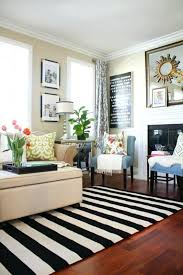 grey white striped rug a new living room rug stripes for the win a thoughtful place