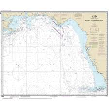Noaa Chart Gulf Coast Key West To Mississippi River 11006