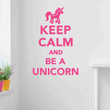 keep calm and be a unicorn wall decal sticker vinyl wall art wall decor on wall art decoration vinyl decal sticker with keep calm and be a unicorn wall decal sticker vinyl wall art wall