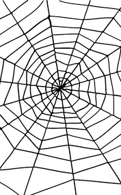 Giant Spider Web with Spider Halloween Decoration
