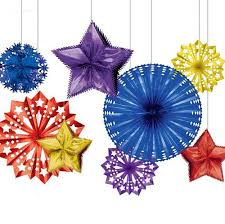 office christmas party favors. Foil Starburst Christmas Party Decoration Pack Office Favors T