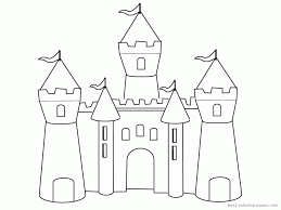 Free printable coloring pages and book for kids. Simple Way To Color Castle Coloring Pages Toyolaenergy Com Coloring Home