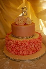 Good Ideas Fancy Birthday Cakes Pink 18th Cake We Made Ruffles And