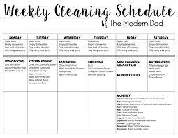 Monthly Cleaning List Tirevi Fontanacountryinn Com
