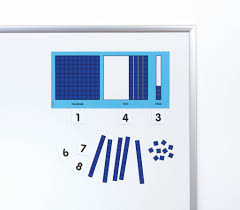 Magnetic Place Value Chart Magnetic Base Ten Place Value Set
