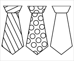 Small Picture 10 Printable Tie Templates Free Premium Templates