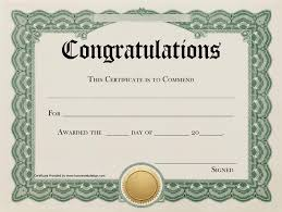 Congratulations Certificates Templates Congratulations Certificate 2 Printable Certificates