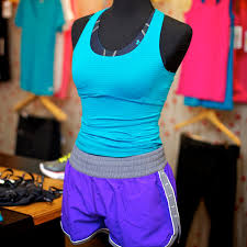 under armour outfits. under armour tank top shorts fitness fashion outfits