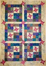Kathy's Quilts & Before I took sick I was able to finish my quilt top from the New Year's  Day mystery over at Quiltbug. It's called