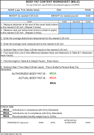 Download Male Body Fat Chart In Excel For Free Formtemplate