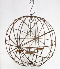 24 wrought iron eclipse chandelier outdoor wax candles to enlarge