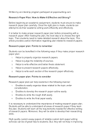 Need A Research Paper Written How To Write A Research Paper