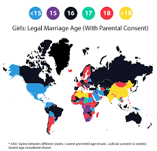 Lowest Get Around Age Girls Legally The Mapporn Can Married 618x596 World