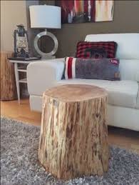 trunk table furniture. stump side table log furniture tree trunk ecofriendly