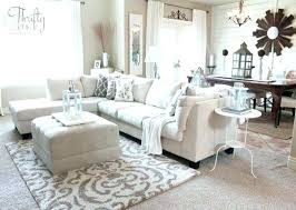 what size area rug for sectional sofa rugs design inside decorative rugs for living room plans