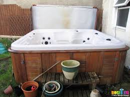 sx21155 second hand hot tub for