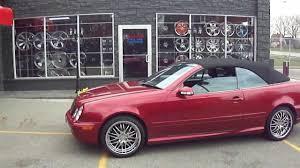 HILLYARD CUSTOM RIM&TIRE CHECK OUT THIS 2000 MERCEDES BENZ CLK 430 ...