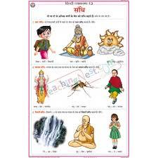 Sandhi Chart 50x75cm