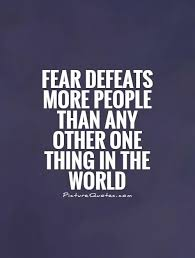 Famous Defeat Quotes About Fear Defeats More People Golfian Interesting Famous Quotes About Fear
