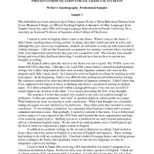 examples of autobiographical essays for scholarships example   autobiography example essay resume autobiography example sample resume bio data autobiographical essay