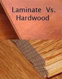 Laminate floors are extremely durable but do have Lamine versus hardwood  floors