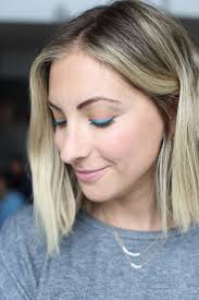 we posted a poll on cupcakesandcashmere asking whether we should ditch our more typical natural looks in favor of some colorful eye makeup
