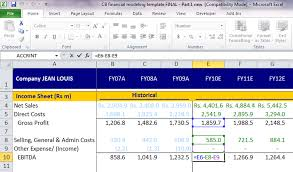 Excel Shortcuts To Audit Financial Models