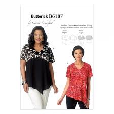 Butterick Plus Size Patterns Gorgeous Butterick 48 Sewing Patterns Women's Tops Sewcratic