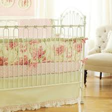 reminiscent of times gone by our roses for bella crib bedding is a classic