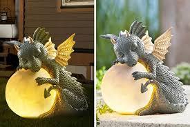dragon garden patio ornament deal