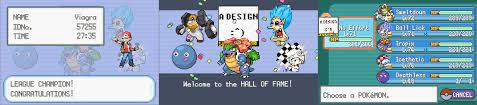Ultra Fire Red XD: PokemonHallOfFame