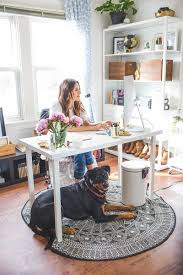 home office makeover pinterest. A Chic Santa Cruz Office Space Designed On Budget Home Makeover Pinterest D