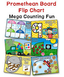 Interactive Whiteboard Flip Charts Number Counting Fun Promethean Board Flip Chart A Teacher
