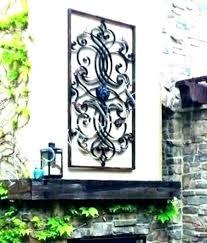 metal garden wall art ebay