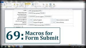 Button Template Word Microsoft Word Create A Submit Form Button