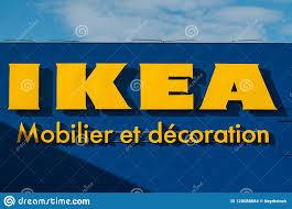 Ikea Logo Design Retail Of The Ikea Logo On Store Facade Ikea Is The World S
