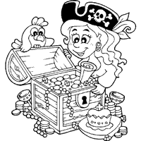 Small Picture Pirate Coloring Pages Surfnetkids