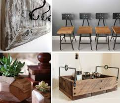reclaimed wood furniture etsy. Reclaimed Wood Home Accents Main Furniture Etsy