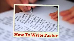 improve handwriting speed part