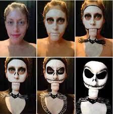 a super simple jack skellington makeup tutorial