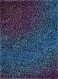 blue and purple rug